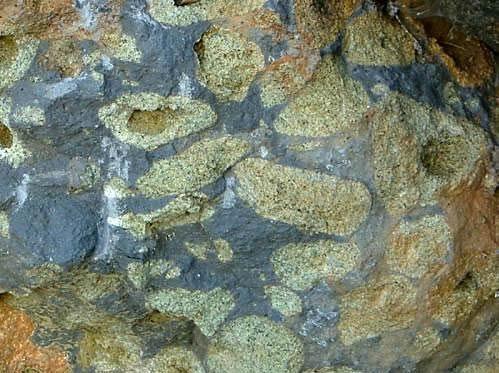Nodules de péridotite